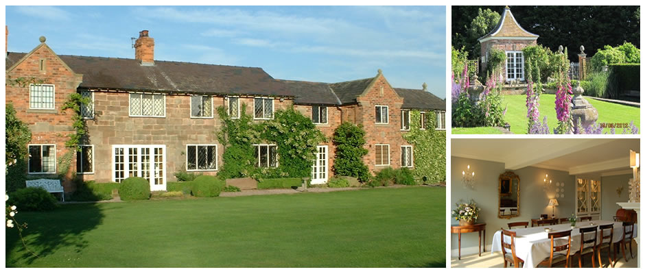 bed and breakfast accommodation near carden park, peckforton castle, beeston castle, and cholmondeley castle